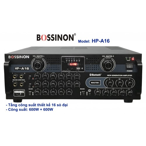 AMPLI BOSSINON HP-A16