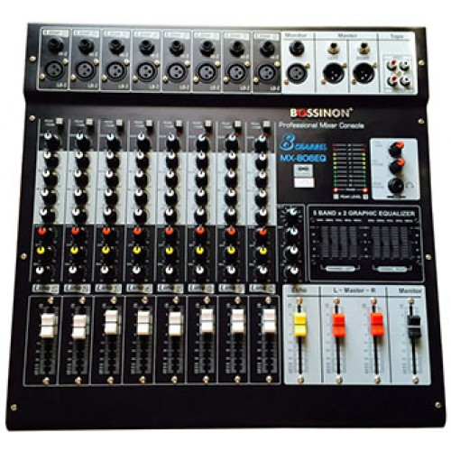 MIXER BOSSINON MX-806EQ